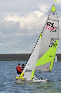 RS Fevas at Grafham Water SC 22 Apr 12